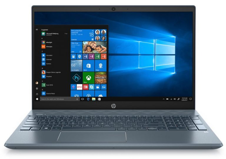 HP Pavilion 15-cw1068wm Laptop (15.6″, AMD Ryzen 5 3500U, Radeon Vega 8, 8GB RAM, 1TB HDD + 128GB SSD, Horizon Blue)