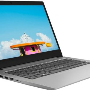 Lenovo IdeaPad 1 81VS0001US Ultra-Cheap 14 Laptop (AMD A6 Series with Radeon R4 Graphics, 4GB RAM, 64GB eMMC, Platinum Gray)