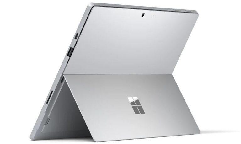 MIcrosoft Surface Pro 7 kickstand