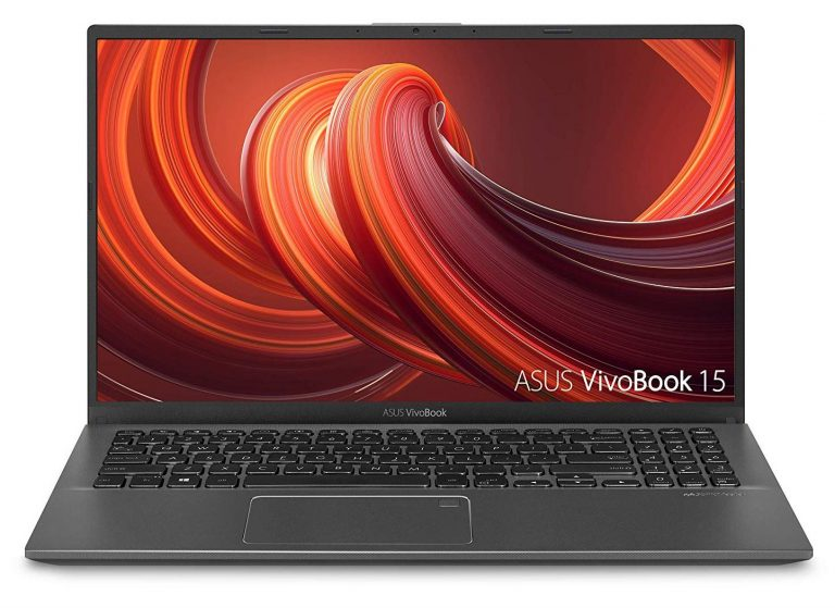 Asus VivoBook 15 F512DA-EB51 Thin & Light 15.6 Laptop (FHD, AMD Ryzen 5 3500U with Vega 8, 8GB RAM, 256GB SSD, Gray)
