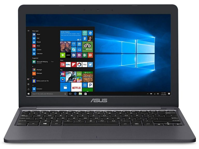 Asus VivoBook L203MA-DS04 Cheap 11.6 Laptop (Intel Celeron N4000, 4GB RAM, 64GB eMMC, MS Office 1 Year)