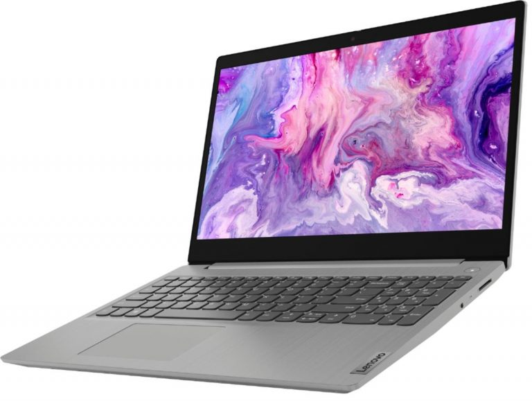 Lenovo IdeaPad 3 15 81WE00LAUS (HD Touch, Intel i3-1085G1, 4GB RAM, 128GB SSD, Blue)