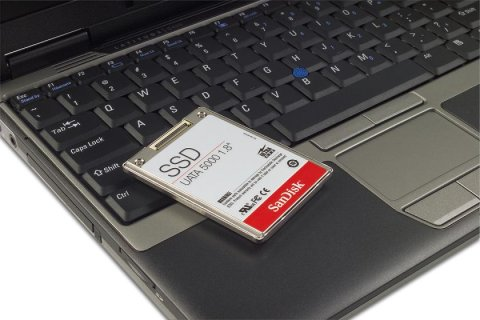 Dell Latitude with solid state hard drive