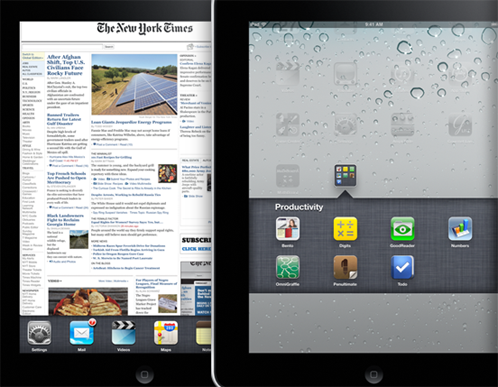 iOS 4.2 Multitasking iPad