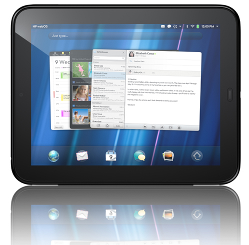hp touchpad with 7 inch screen reaches fcc notebookcheck