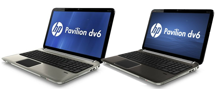 HP Pavilion dv6z Quad Edition Silver and Black
