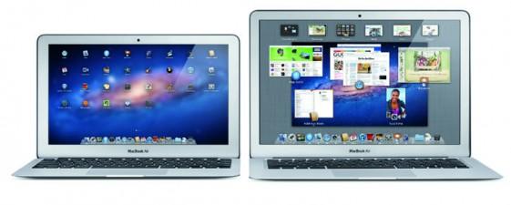 MacBook Air (left: MC968LL-A, MC969LL-A , right: MC965LL-A, MC966LL-A)