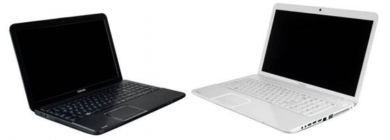Toshiba Satellite C850, C855, C870 Laptop Design