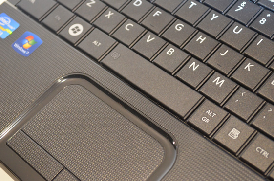 C855-S5115 Keyboard and Trackpad