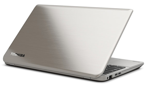 Toshiba Satellite P55-A5200 Back View