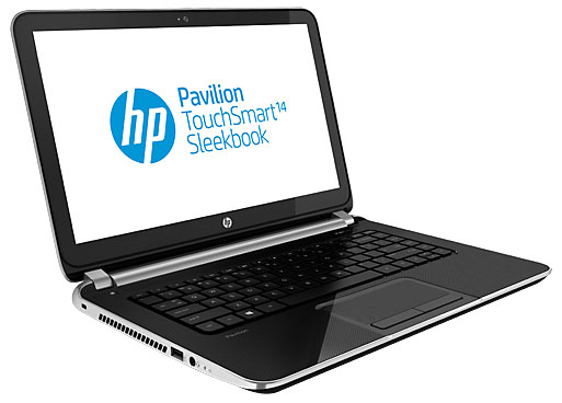 HP Pavilion TouchSmart Sleekbook 14-f020us