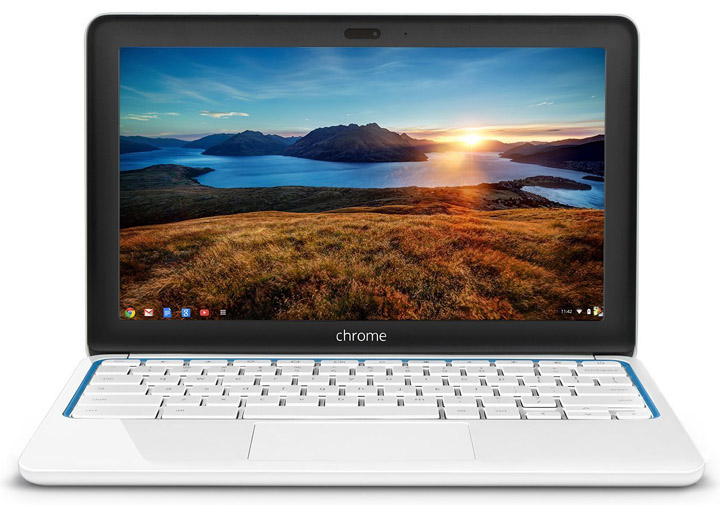 HP Chromebook 11 11-1101us White