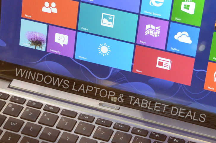 Windows Laptop and Tablet Deals