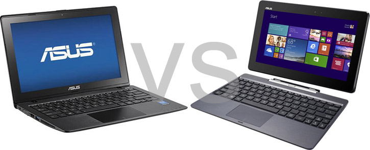 Asus-X200CA-HCL1104G1 vs Asus Transformer Book T100TA T100TA-B1-GR 32GB - T100TA-C1-GR 64GB