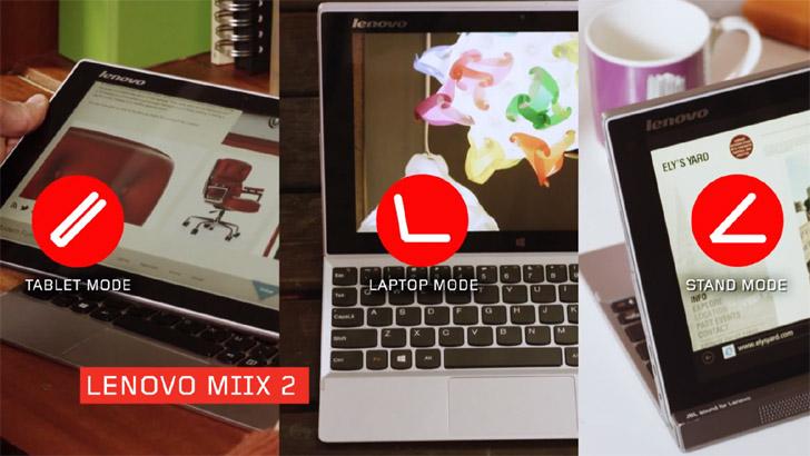 Lenovo Miix 2 10 and 11 inch