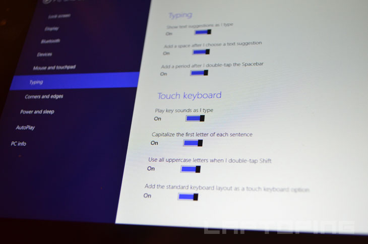 Add the standard keyboard layout as a touch keyboard option