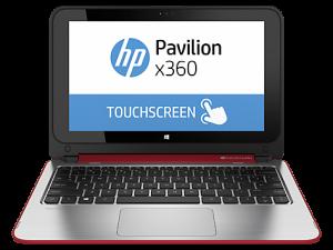 HP Pavilion 11 X360 Laptop Mode - Red