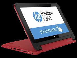 HP Pavilion 11 X360 Red