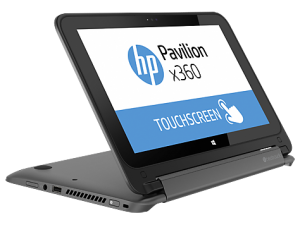 HP Pavilion X360 Stand Mode - Gray