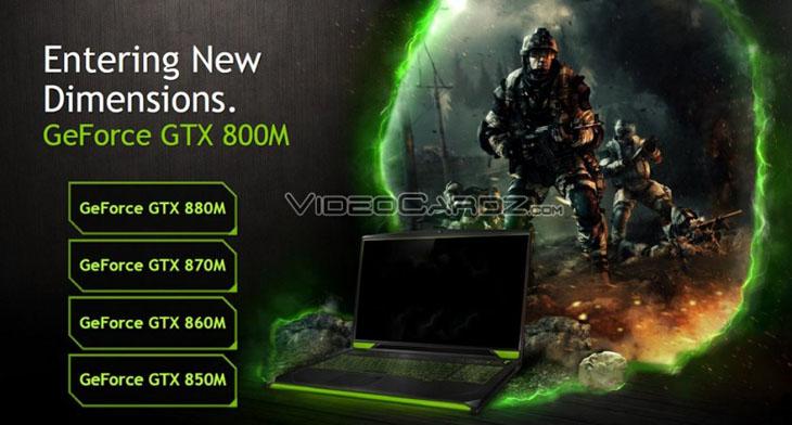 Nvidia GeForece 800M - GTX 880M 870M 860M 850M