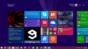 Windows 8.1 Spring - Task Bar in Metro