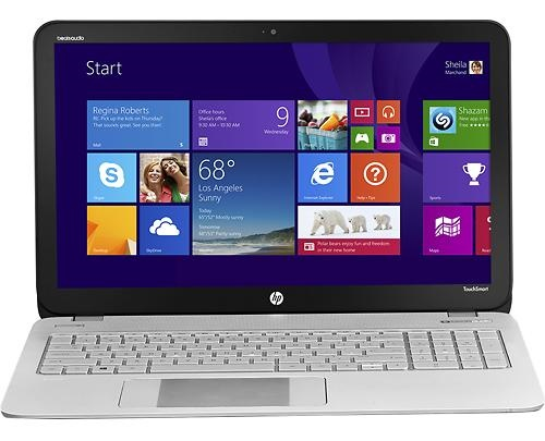 HP ENVY TouchSmart with Control Zone Touchpad