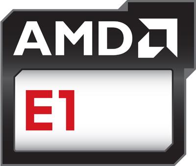 AMD E1 Series E1-6010 with Radeon R2 - Logo