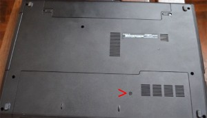 Dell Inspiron 15 3000 Upgrade Door on Bottom