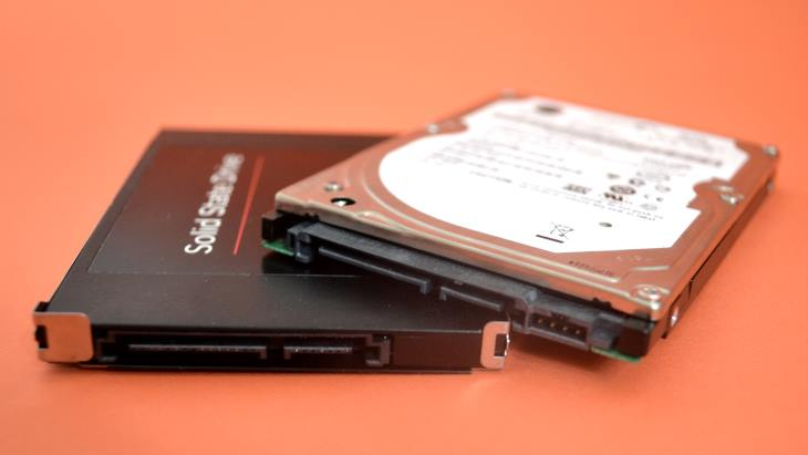 Laptop PC Storage - HDD, SSD, Hybrid HHDD - SSHD, eMMC