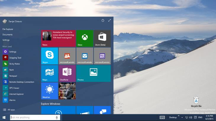 Windows 10 - Free for Windows 8.1 and 7 Users