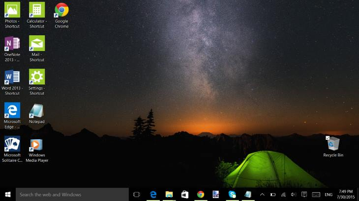 How to Create Shortcut Icons on Desktop in Windows 10