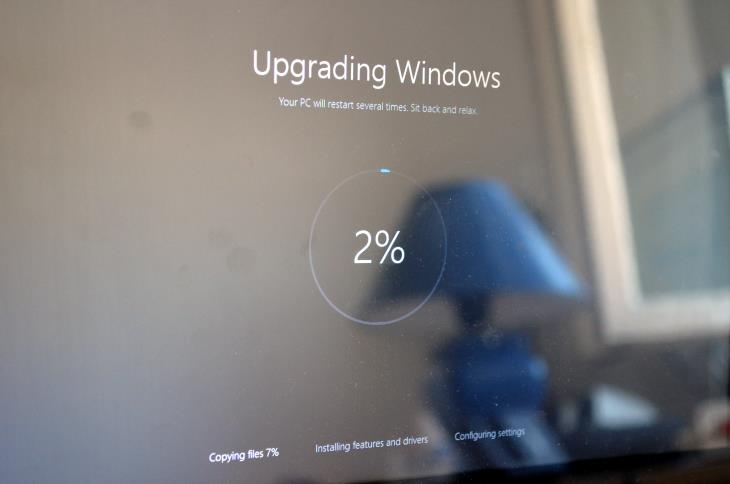 Upgrading Windows (from 8.1 to 10)