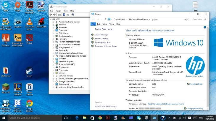 Windows 10 Upgrade Finished - Programs and Files Kept