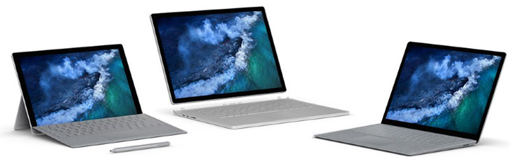 Microsoft Surface Pro, Surface Laptop, Surface Book Black Friday & Cyber Monday Deals 2017