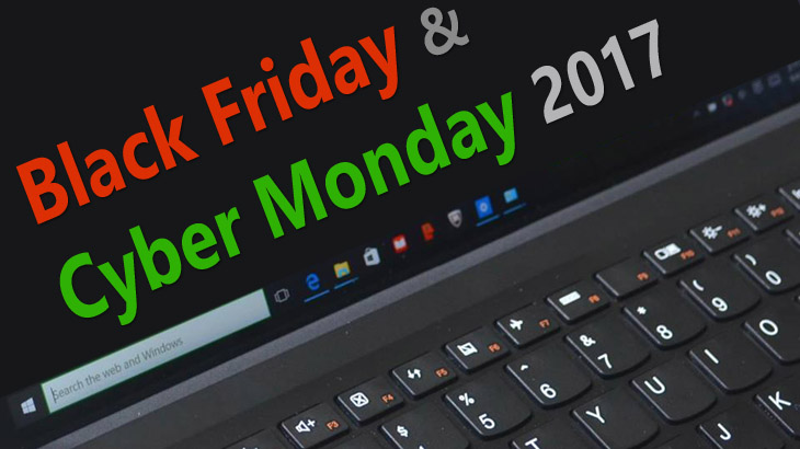 Black Friday & Cyber Monday 2017 Laptop, 2-in-1, Tablet PC Deals