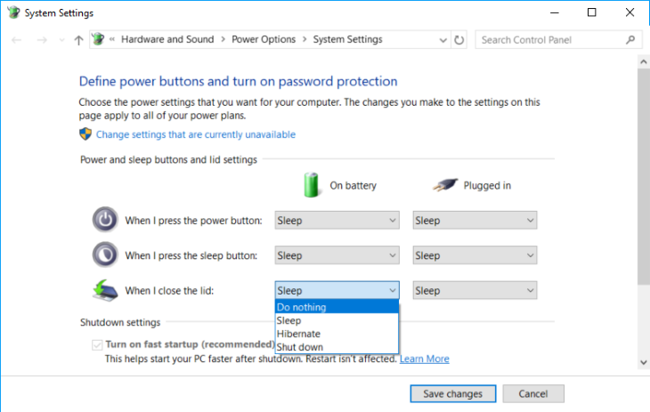 How to Keep Windows 10 Laptop On with Closed Lid