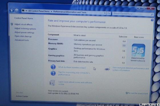 Windows Experience Benchmark