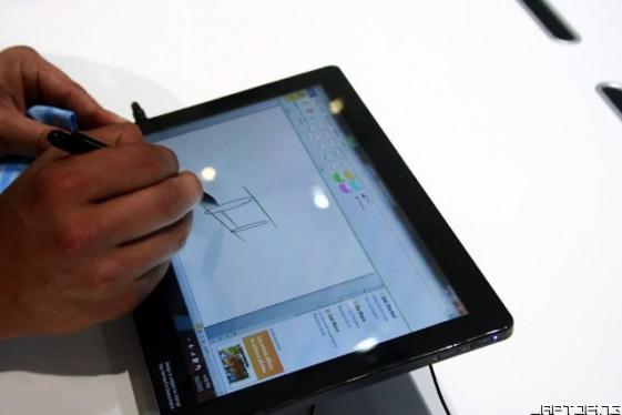 Samsung Slate 7 drawing