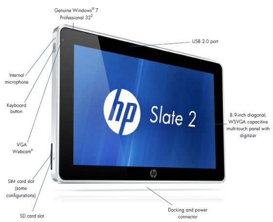 Second Generation HP Slate